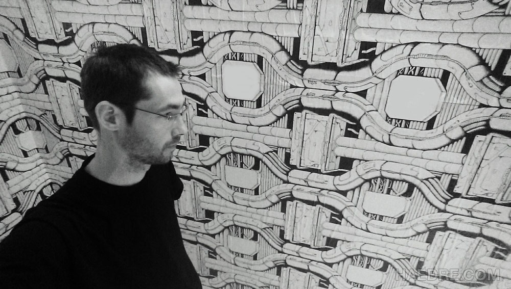 haedre biography of artist and comic author simon lejeune